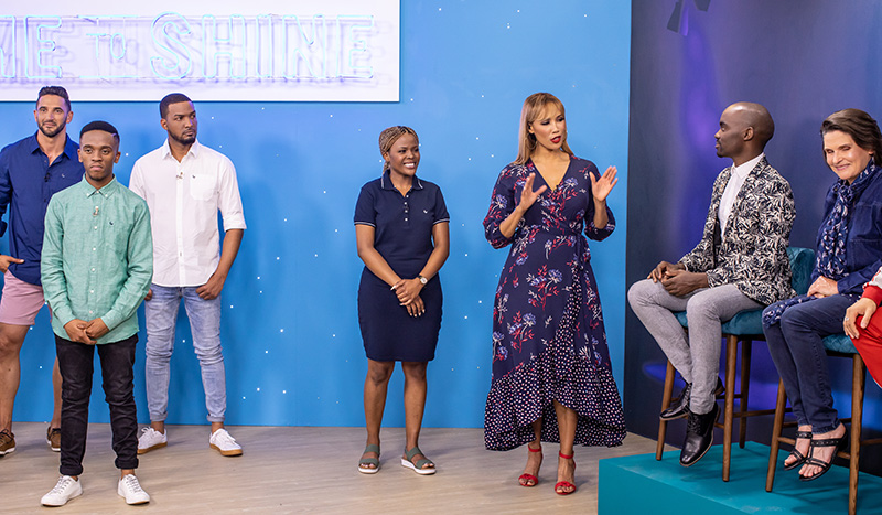 Presenter Search on 3 Top 7 face the judges