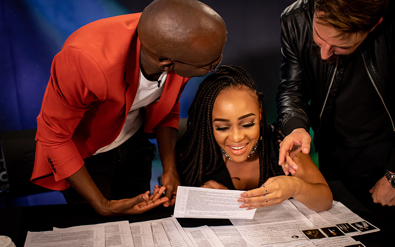 Presenter Search on 3 Judges at the Cape Town auditions