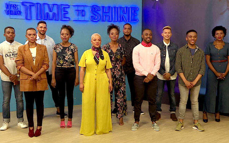 Presenter Search on 3 Top 10 contestants Time to Shine