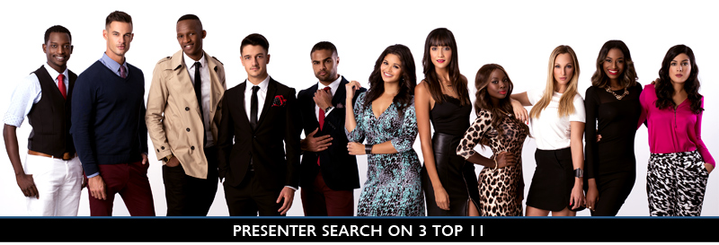Presenter Search on 3 Top 11